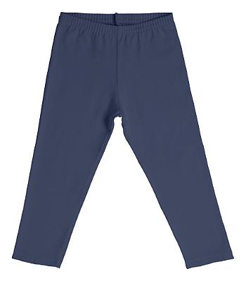 Legging em Cotton Azul