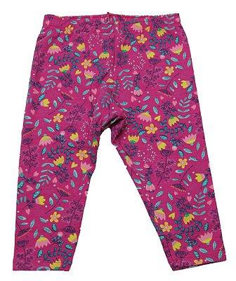Capri em Cotton Estampado Rosa