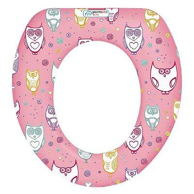 Redutor Para Vaso Sanitário Soft Seat Menina Multikids Baby - BB213