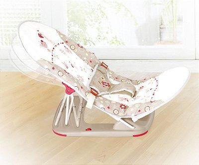 Cadeira De Descanso  Dobrável P/ Viagem Girafa Bege