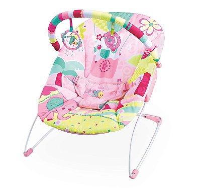Cadeira De Descanso Musical Elefante /  Pink