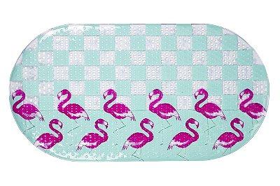 Tapete p/ Banheiro-Flamingos