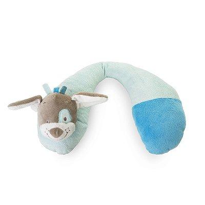 Suporte Pescoço Cachorro Azul