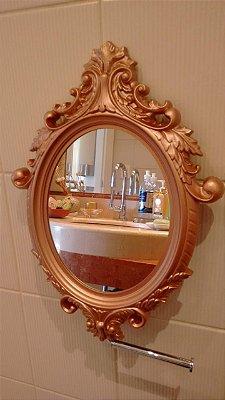 Espelho camarim rose