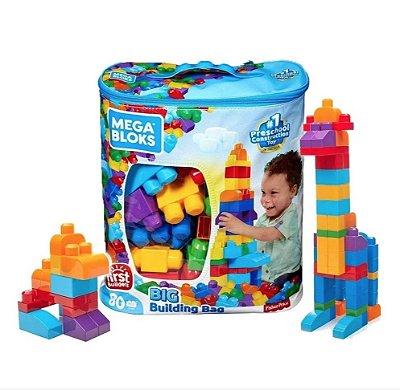 Bloco De Montar Mega Bloks C 80 Pecas Orig Fisher-price