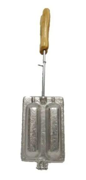 Forma Para Crepe Suiço Fogão Aluminio Fundido Resistente Top