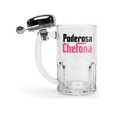CANECA CAMPAINHA PODER. CHEFONA 340ML