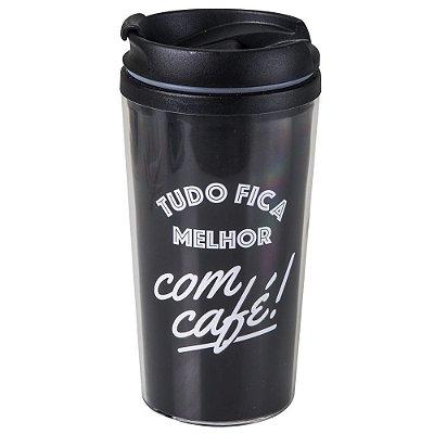COPO TERMICO POP 200ML - TUDO FICA MELHOR COM CAFE.