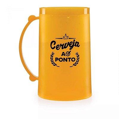 CANECO CONGELAVEL CERVEJA AO PONTO.