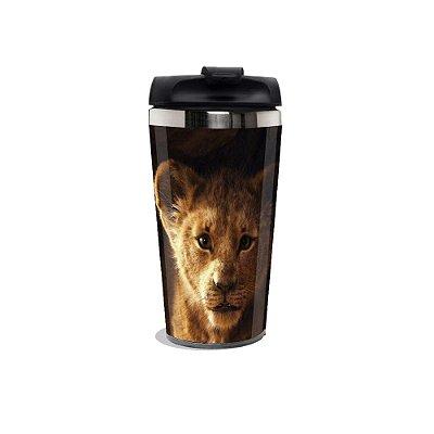 Copo Térmico Rei Leão.