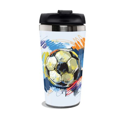 Caneca Térmica Futebol.
