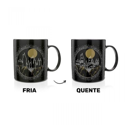 CANECA TERMOSSENSIVEL HARRY POTTER LUMOS