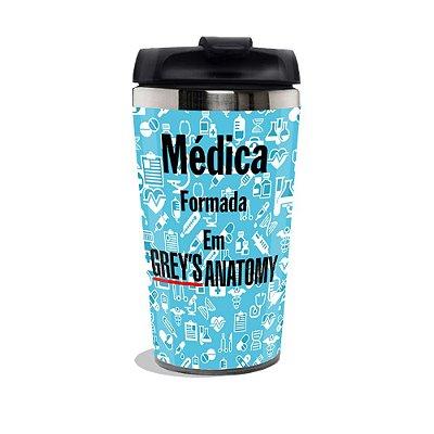 Copo Térmico Greys Anatomy Médica