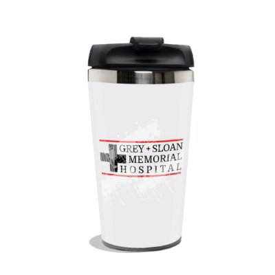 Copo Termico Grey's Anatomy Hospital Memorial