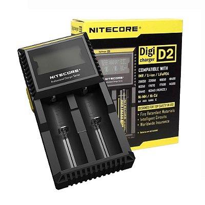 Carregador Nitecore® D2 (Digi)