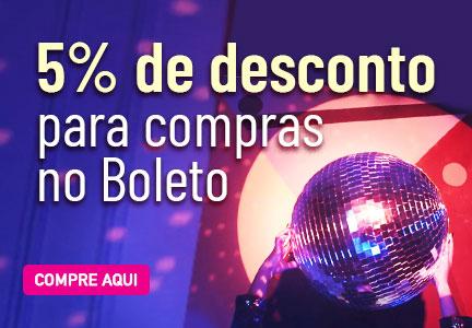 5% OFF Boleto