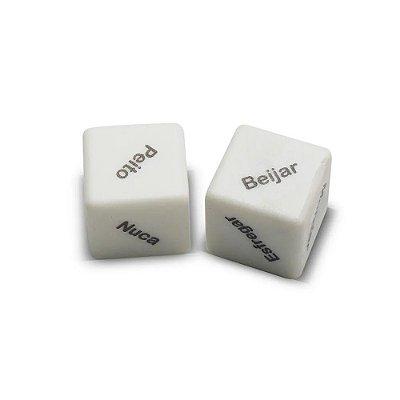 Dados Cubos do Amor Diversão Ao Cubo