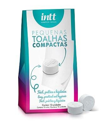Kit 10 Toalhas Higienizadoras Compactas