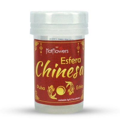 hot ball chinesa esfria e pulsa