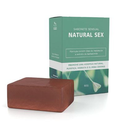 SABONETE NATURAL SEX