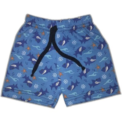 SHORTS MOLETINHO - FUNDO DO MAR