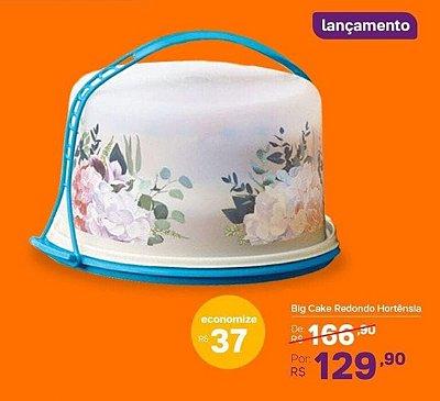 BIG CAKE REDONDO HORTÊNSIA TUPPERWARE