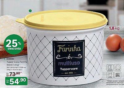 Caixa de Farinha Bistrô 1,8 kg - Tupperware