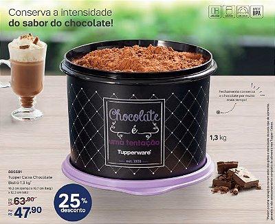 Caixa de Chocolate Bistrô 1,3 kg - Tupperware