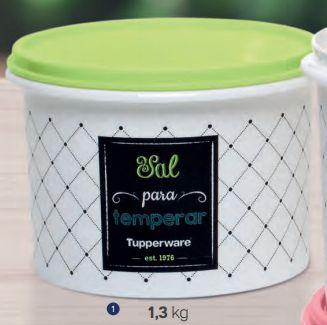 Caixa de Sal Bistrô 1,3 kg - Tupperware