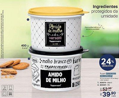 Caixa de Amido de Milho 400 g - Tupperware