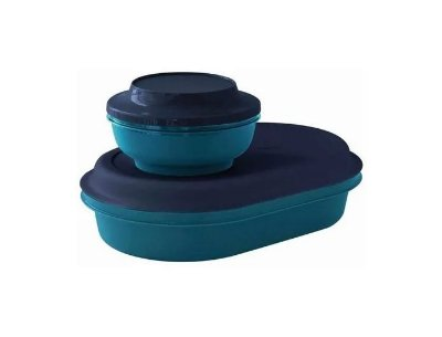 Travessa Oval 2L + Redonda 650 ml Actualité - Tupperware