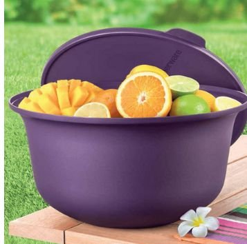 TIGELA ALOHA 7.5L ROXO - TUPPERWARE