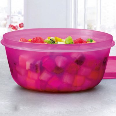 TIGELA VISUAL 1.5L ROSA - TUPPERWARE