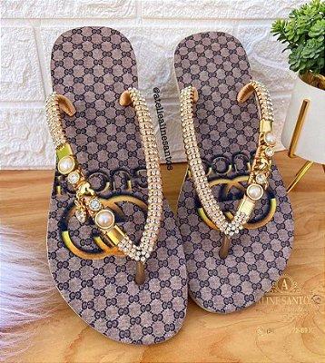 Sandália de Luxo