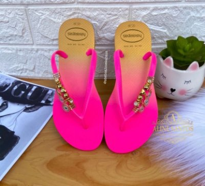 Neon Summer Olho Grego Rosa