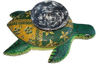 Castiçal Tartaruga Madeira