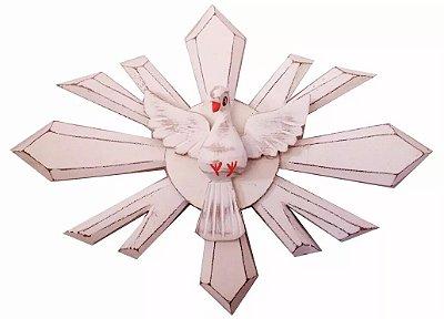 Divino Espírito Santo Oval Madeira 29cm
