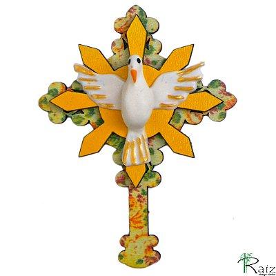 Ímã Cruz Divino Espírito Santo