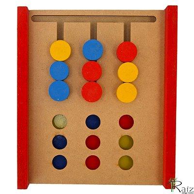Brinquedo Educativo em Madeira Jogo da Imitação