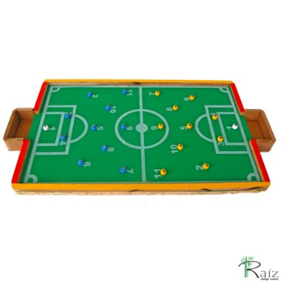 Brinquedo Educativo - Futebol de Pregos Dedo