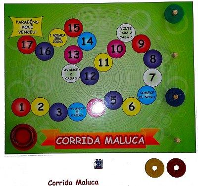 Brinquedo Pedagógico Corrida Maluca