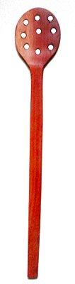 Escumadeira Espumadeira de Madeira Linha Colher de Pau (38 cm)