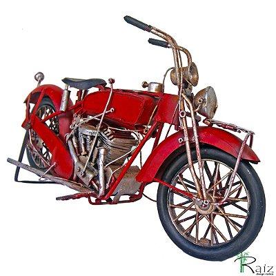 Motocicleta Artesanal em Ferro