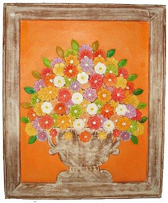 Quadro Flores Coloridas GG Coleção Primavera