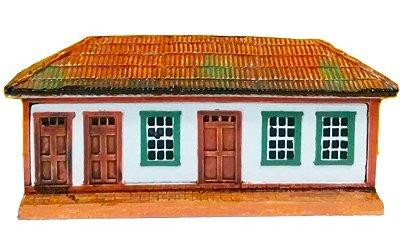 Fachada Sobrado Sario Mesa ou Parede 16cm