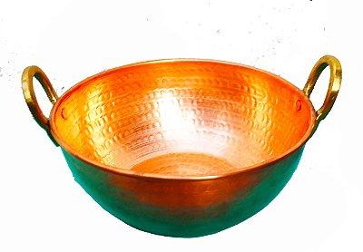 Tacho de Cobre 1L Produto Artesanal 17cm