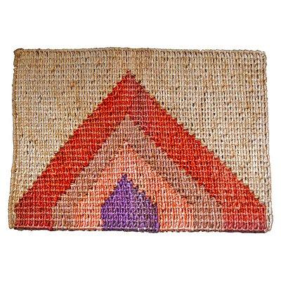 Tapete Artesanal de Fibra Natural Sisal (60 x 40)cm