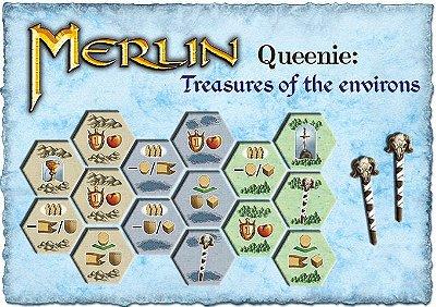 Merlin: Queenie 1 Tesouros dos Arredores