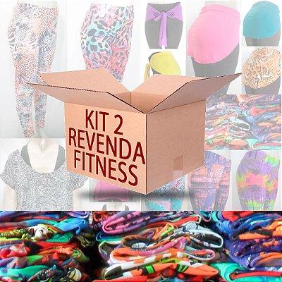 Kit Revenda 2 - Moda Feminina Fitness 12 Peças
