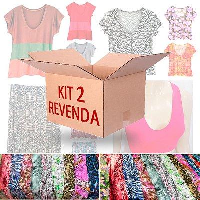Kit Revenda 2 Moda Feminina 12 Peças